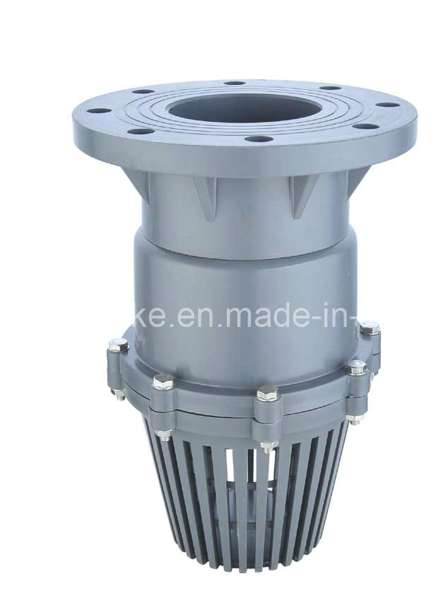 PVC Flanged Foot Valve (GT248)