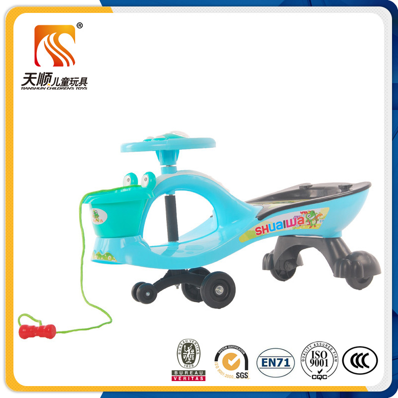 2016 New Model ISO Approved PP Twist Car with Basket