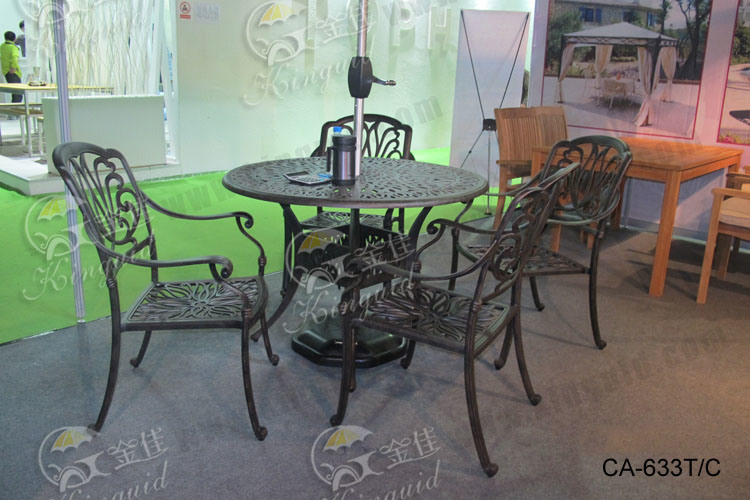 Cast Aluminium Furniture, Outdoor Furniture Ca-633T/C