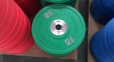 All Rubber Color Bumper Weight Plate Barbell, Weight Dumbbell