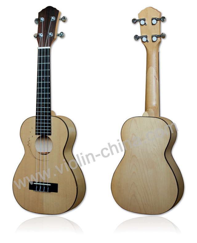 Hawaii Ukulele, Four Strings Guitar, Small Guitar (UKE06)