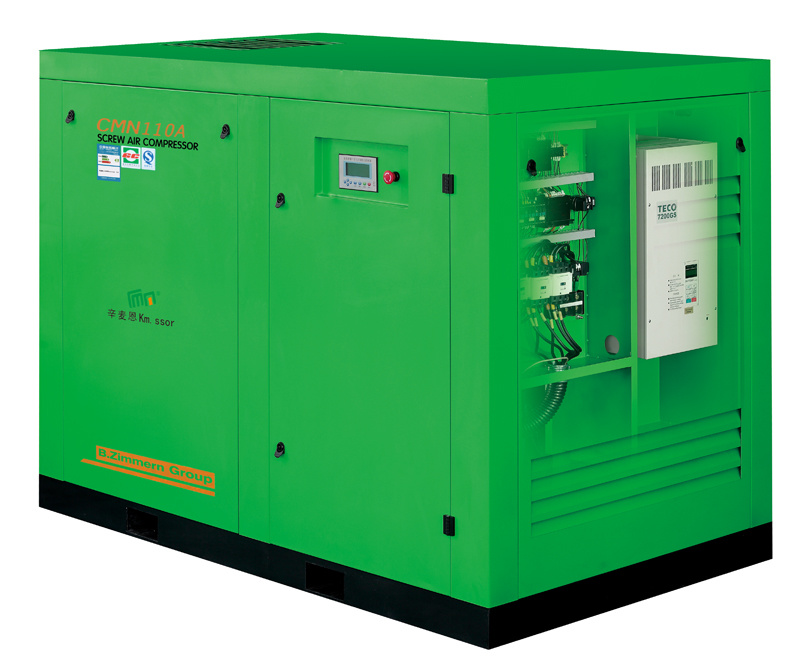 Micro Oil Variable Frequency Screw Air Compressor 37kw 50HP