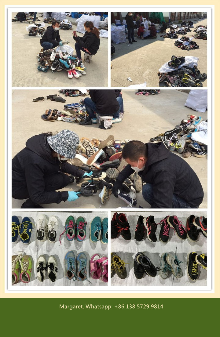 Big Size Hotest Used Shoes for Africa Market