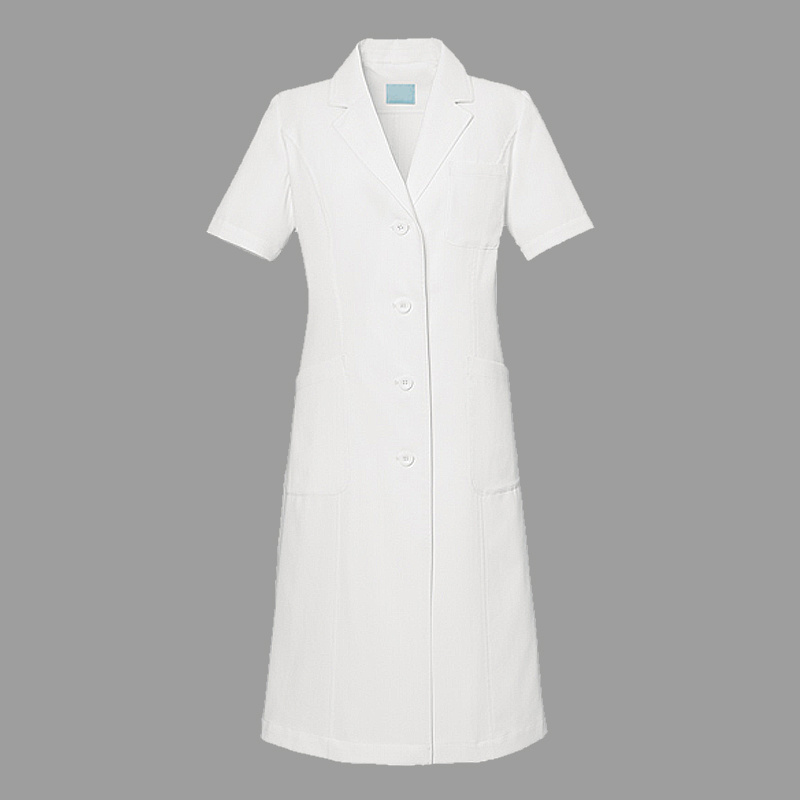 100% Cotton or 35% Cotton 65% Polyester White Lab Coat Women′s Medical Lab Coat