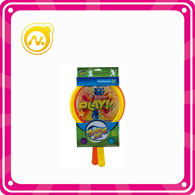 Promotional Kids Play Set Plastic Teenis Racket Toys