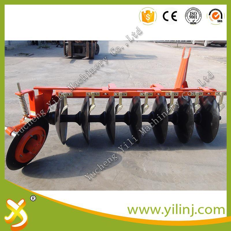 Tractor 3 Point Linkaged Disc Plough with 6 Discs for Paddy Field