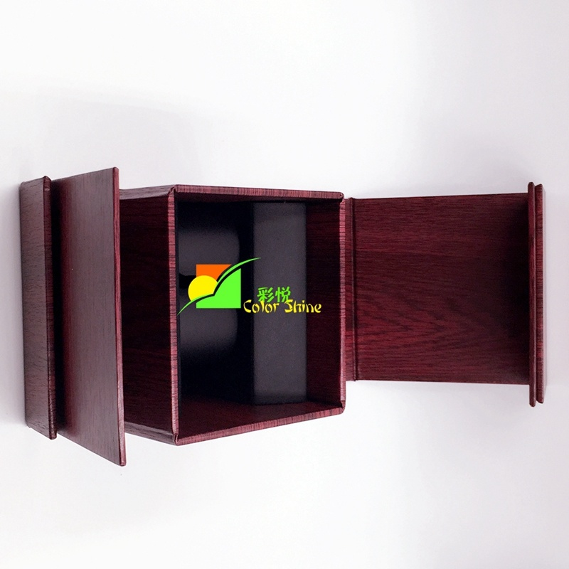 Deluxe Red Paper Watch Packing Gift Box