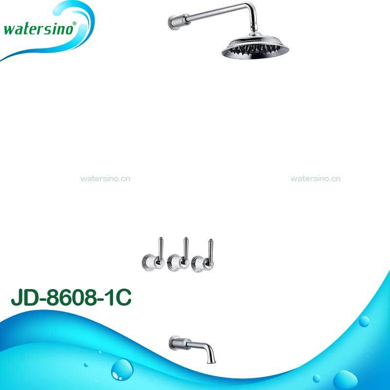 Brass Classic Concealed Shower Set with Good Quallity