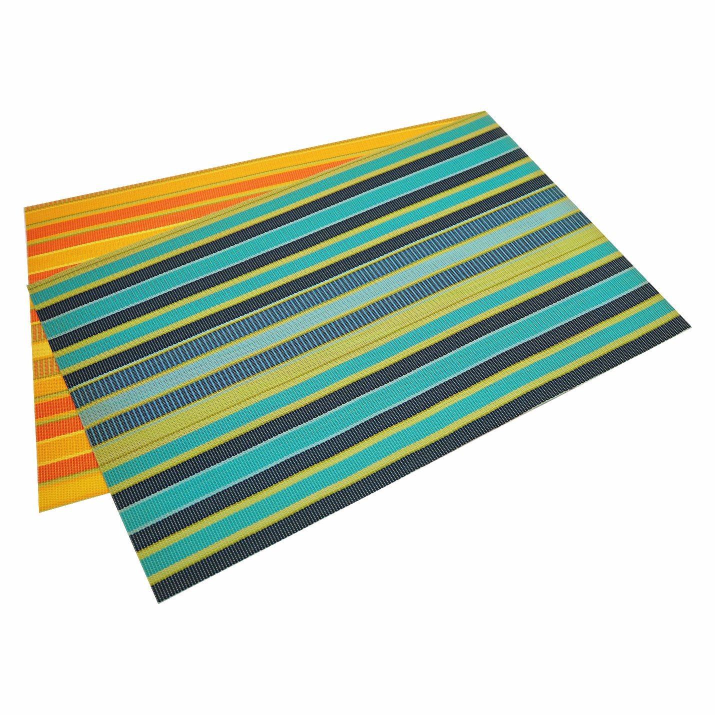 Stripes Tabletop PVC Mat for Home & Restaurant