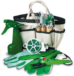 Garden Tool with Waist Bag