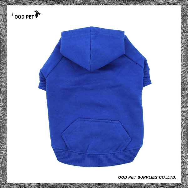 Royal Blue Blank Basic Dog Hoodies Sph6001-1