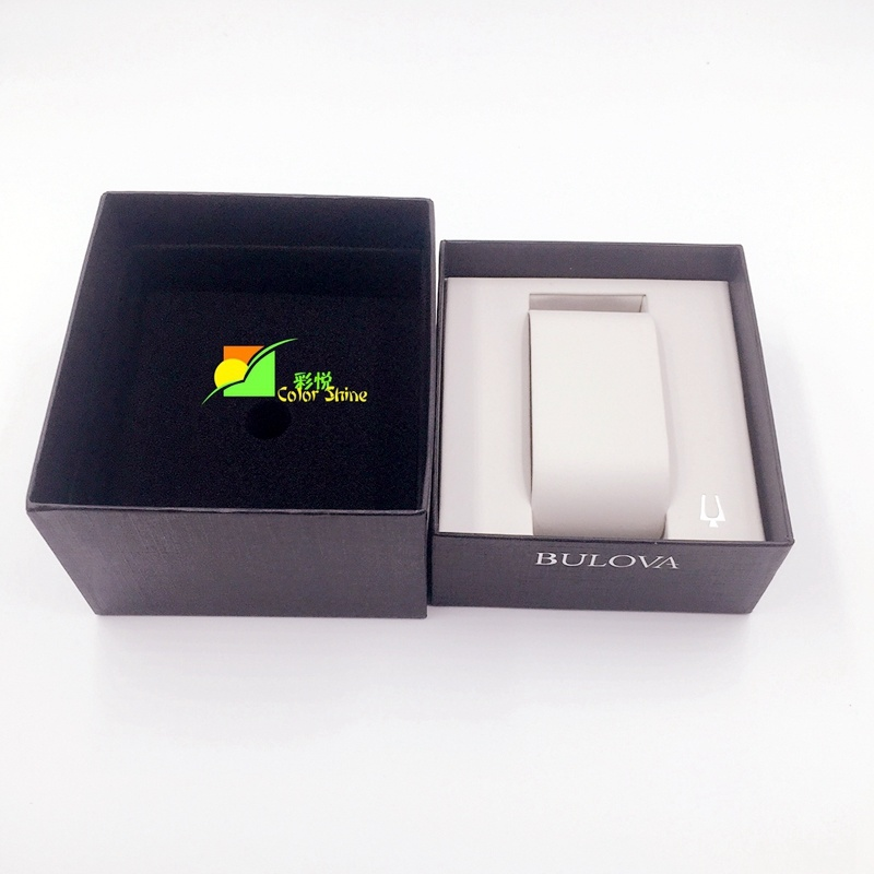Black Watch Paper Packing Gift Box