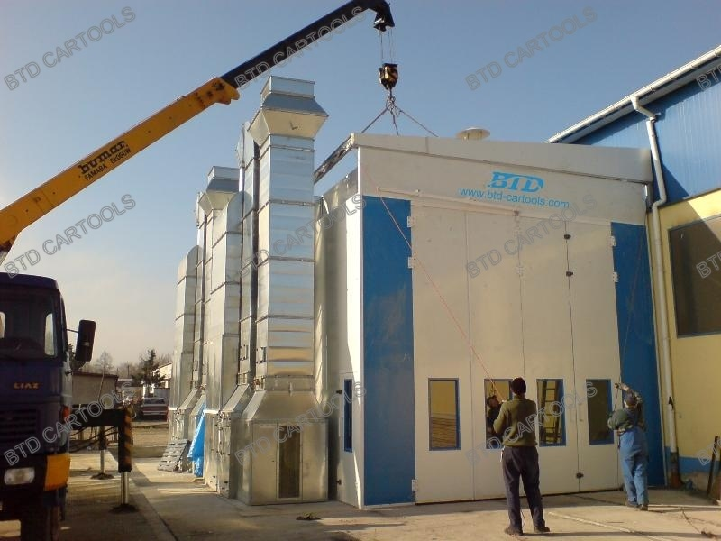 Bus Spray Booth for Sales
