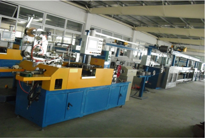 Building Wire Security Cable Extrusion Line Cable Making Machine