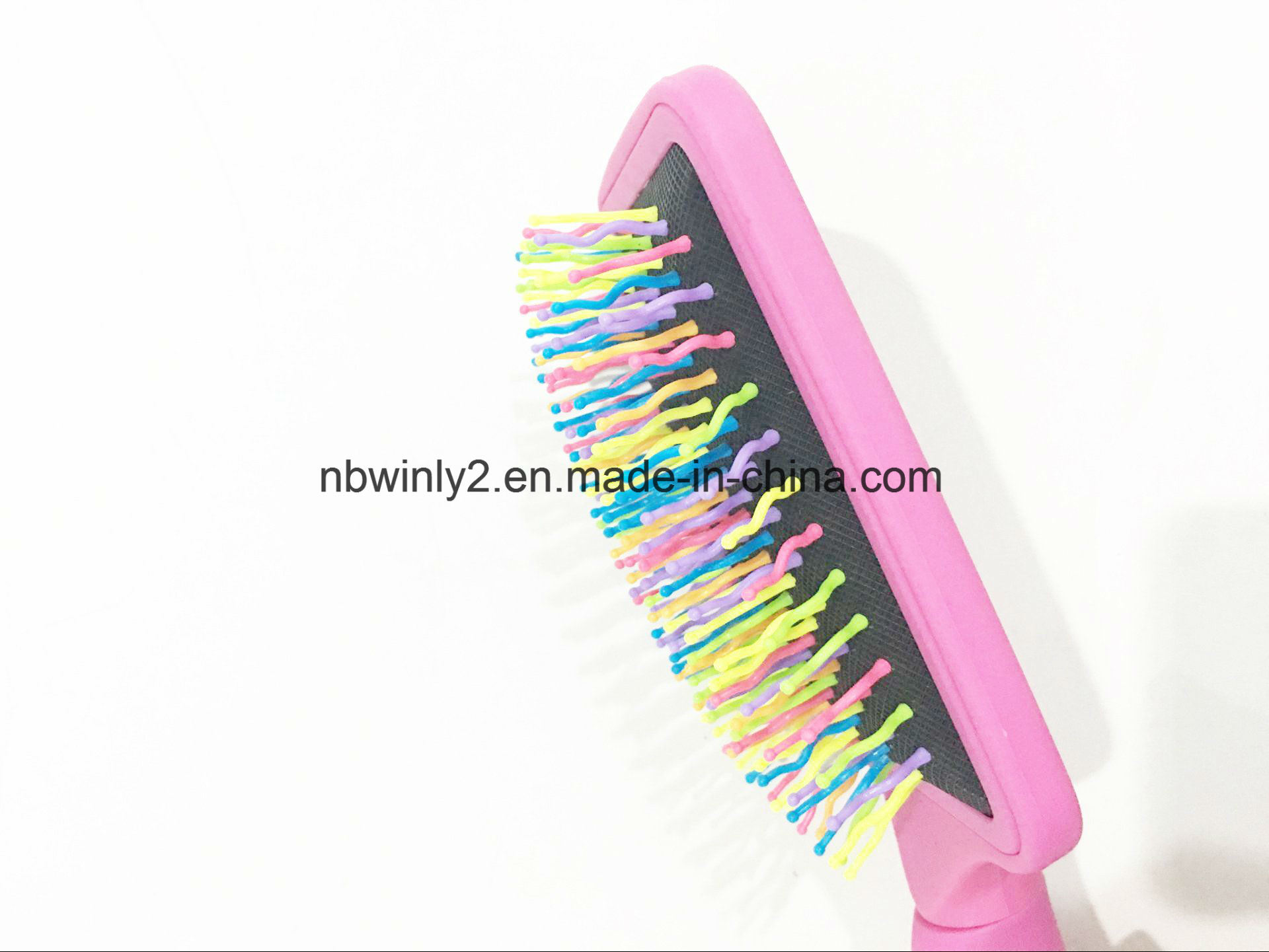 Flat Plastic Hairbrush