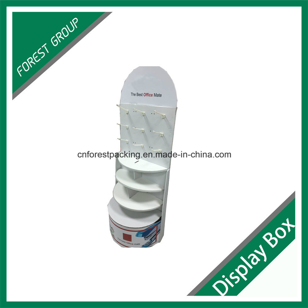 Gold Supplier Custom Made Corrugated Display Stander PDQ Box for Office Appliance
