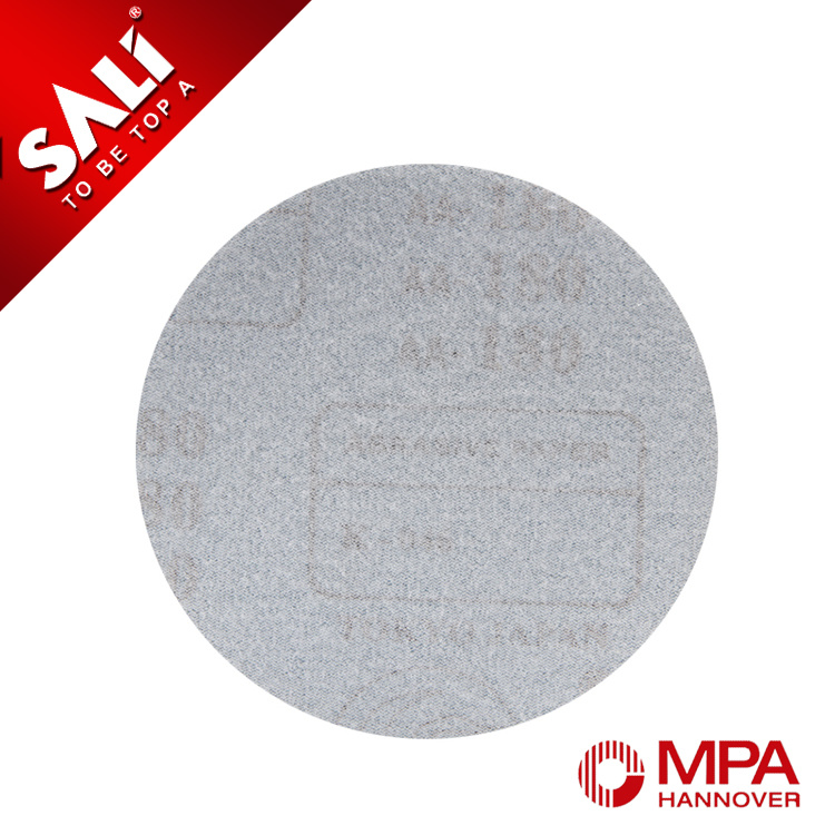 "7"" Premium Aluminum Oxide Hook & Loop Round Sanding Disc for Wood"