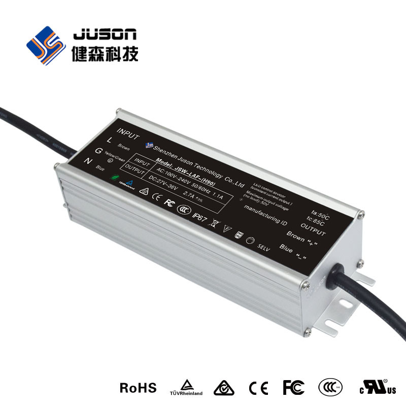 2017 Top Quality Waterproof Surge Protection LED Driver 50W
