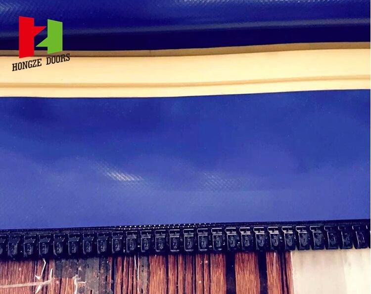 High Speed PVC Roller Shutter Bastion Self Repair Door (Hz-FC2560)