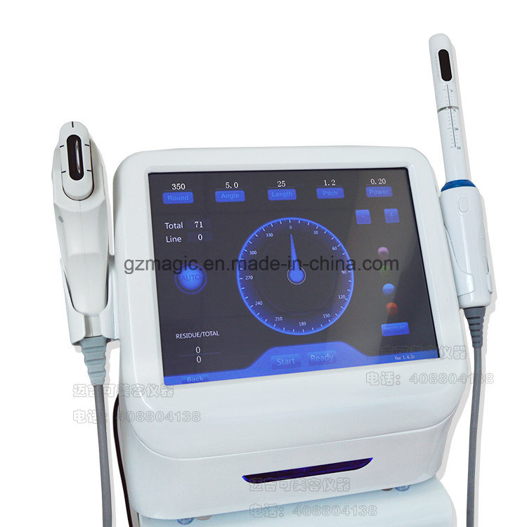 A0220 2 in 1 Hifu Korea Facial Lifting and Vaginal Tightening Hifu Machine
