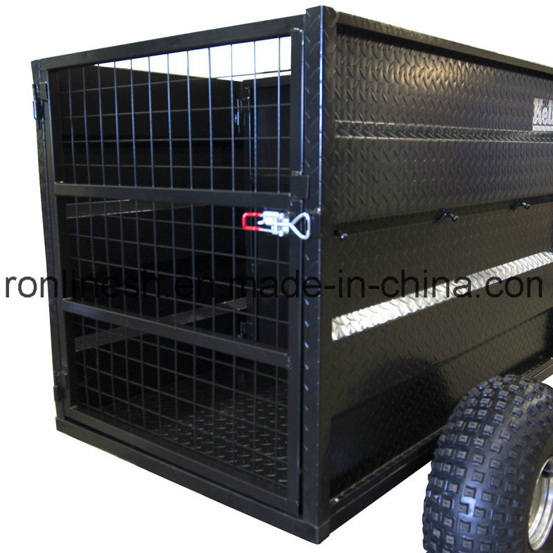 500kgs Small-Sized Transport Trailer/Livestock Transport Trailer/Sheep Transport Trailer/Buckets Transport Trailer/Multi-Transport Trailer for Quad/ATV/UTV