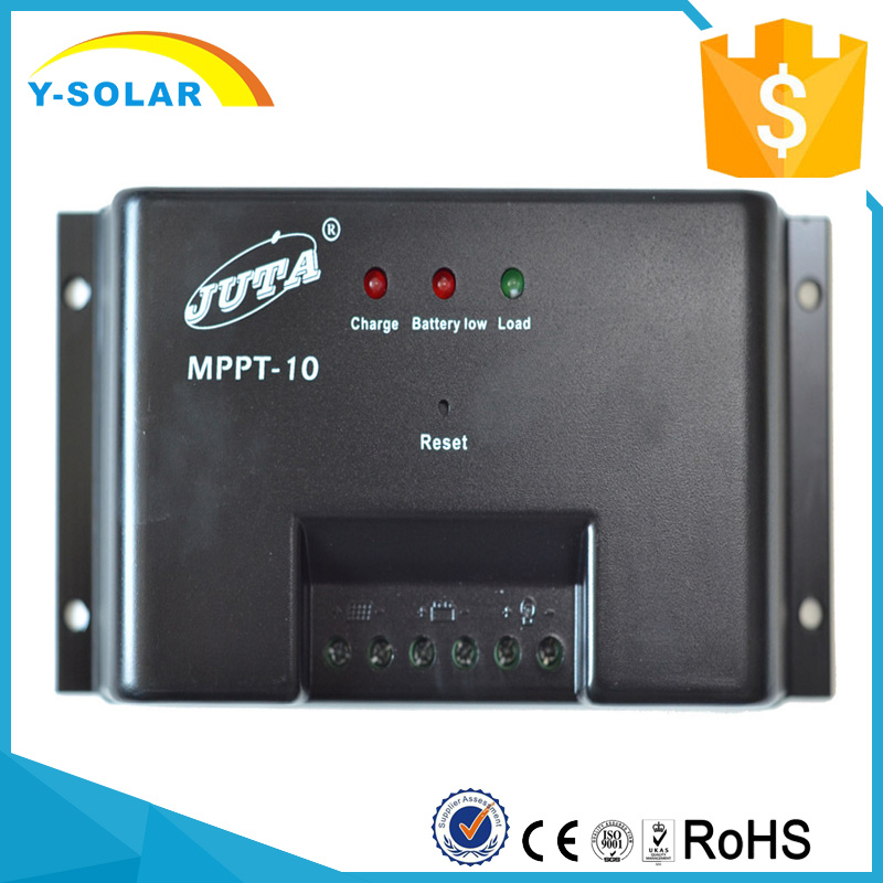 MPPT-10 Solar Panel Regulator 10A PV Controller 12V 24V Auto Battery