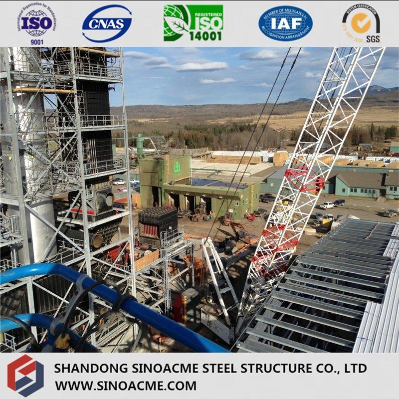 Heavy Steel Frame Structure for Power Plant Boiler