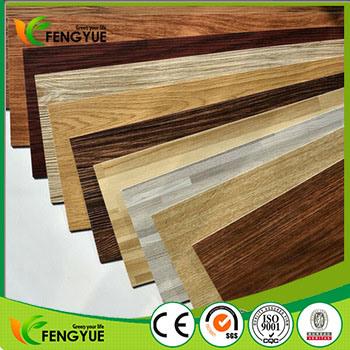 100% Virgin Material Deep Embossed PVC Vinyl Interlocking Floor Plank