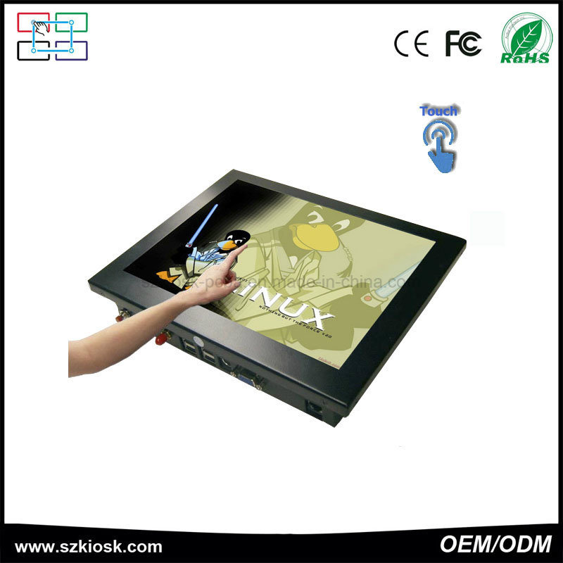 """China Manufacturer 10.4"""" All in One Touch Panel PC OEM"""