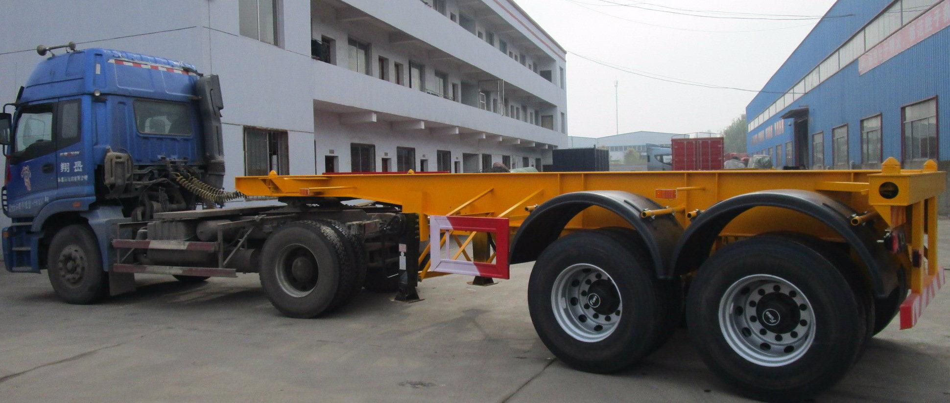 20 Feet Container Truck Semitrailer