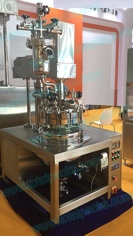 Aerosol Preparation Vessel for Deodorant Spray