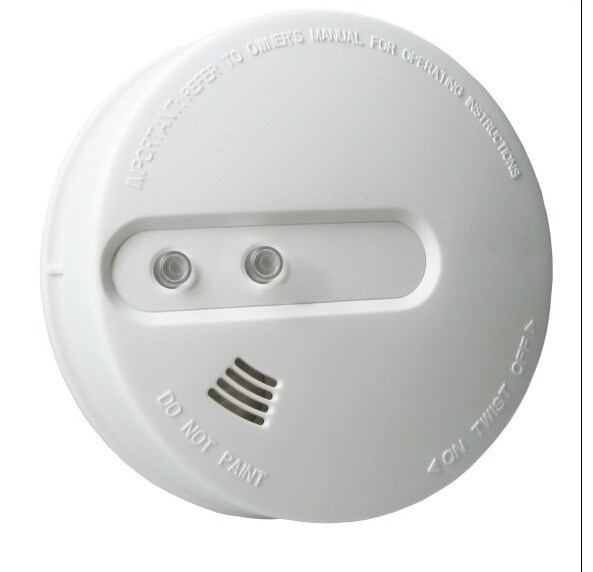 Optic Smoke Alarm with High Security for Fire Safe
