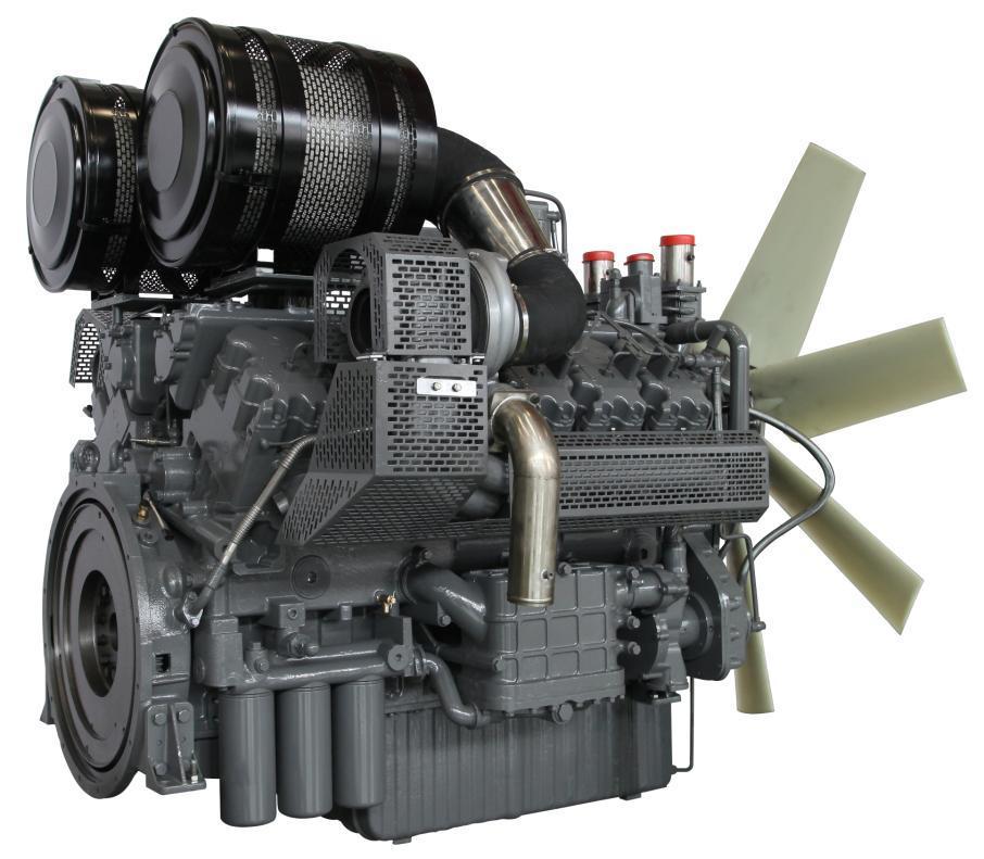 Wandi 1500rpm Genset Engine 1000kw