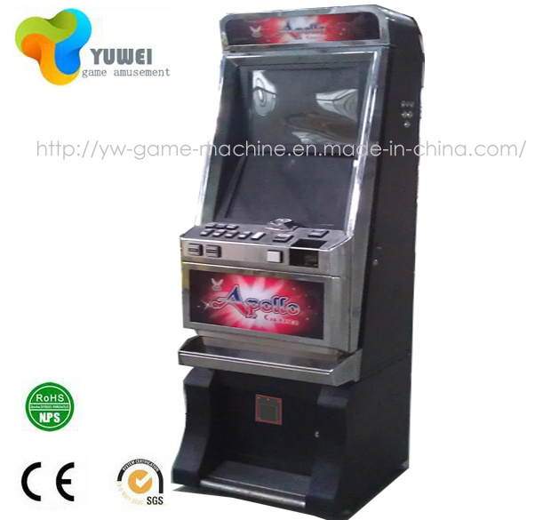 Commercial Redemption Token Arcade Video Games Cabinet Game Machine
