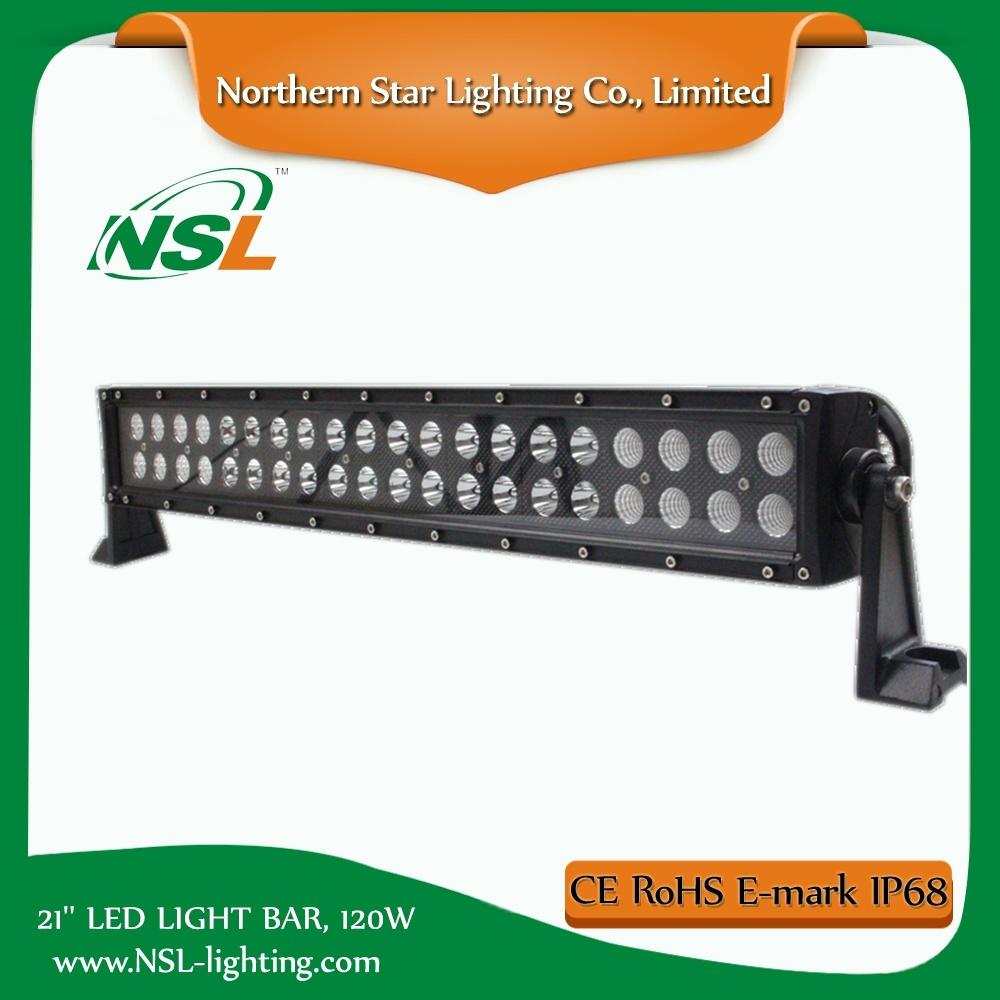 E-MARK 21′′ LED Bar, 36months Waterproof Spot Flood Combo for Jeep ATV, SUV Driving Truck Light