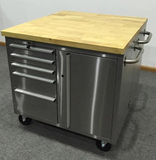 72in Stainless Steel Workbench