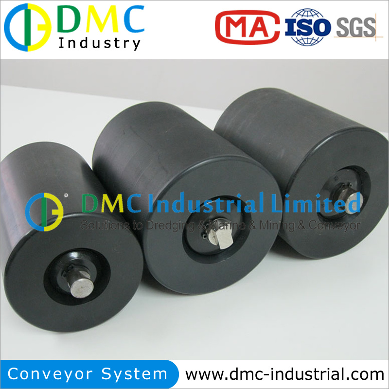 UHMWPE Conveyor Roller for Bulk Material Conveyors