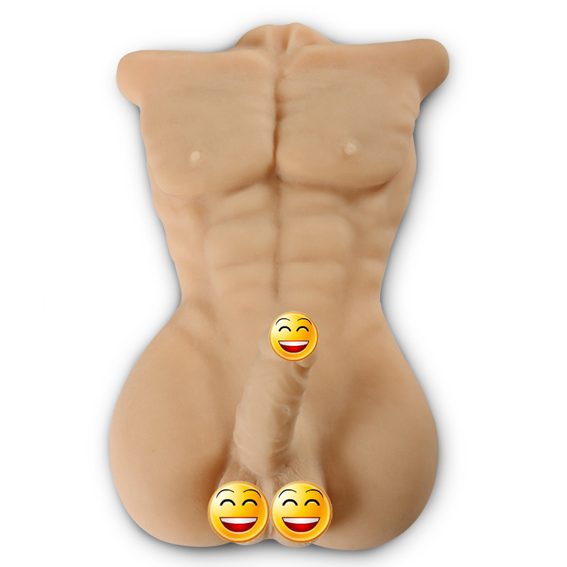 Realistic Muscle Men Full Body with Horse Dildo Lifelike Sex Doll for Women