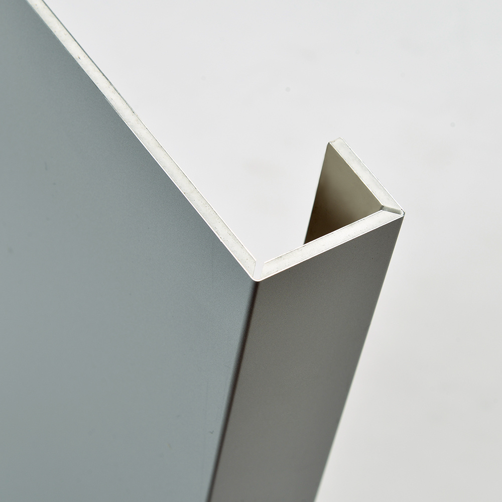 Aluis Exterior 6mm Fire-Rated Core Aluminium Composite Panel-0.30mm Aluminium Skin Thickness of PVDF Bright Silver
