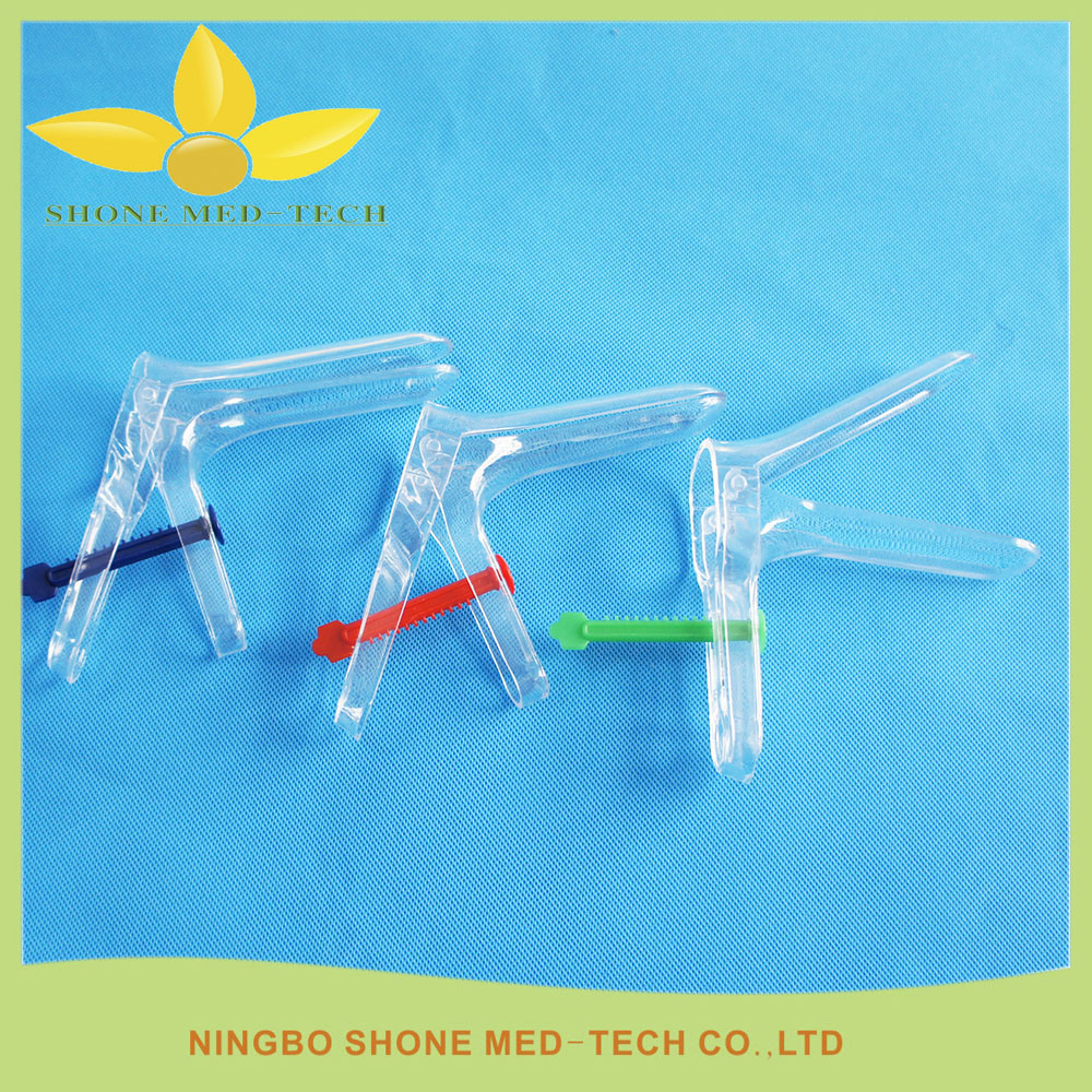 Disposable Examination Gynecology Plastic Vaginal Speculum