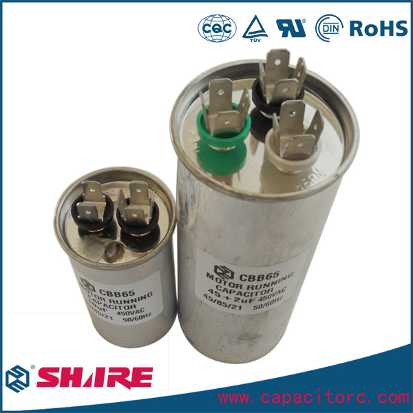 Air Conditioner Spare Parts Cbb65 Capacitor