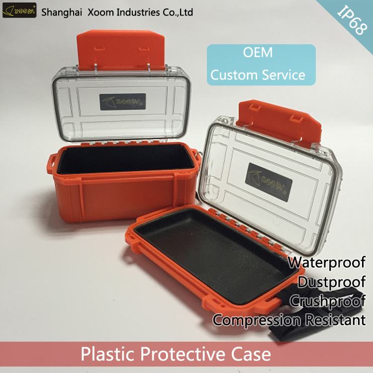 Waterproof Clear Lid Electronics Safety Box
