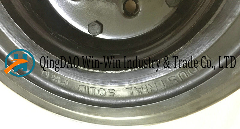 16 Inch Solid Rubber Wheel for Trailer
