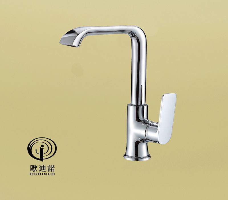 Brass Body Zinc-Alloy Handle Kitchen Faucet&Mixer 70059