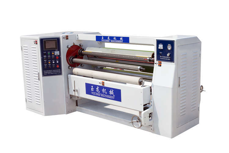 Double Shafts Tape Rewinding Machine