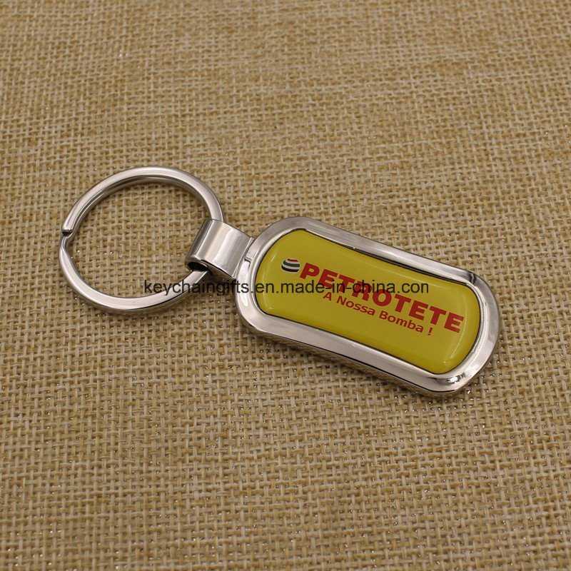 Custom Cheapest Promotional Metal Key Chain with Brand Logo