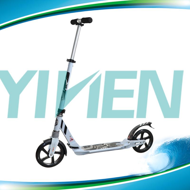 En14619 Certificate Town 7 Big Wheel 200mm Kick Scooter for Adults