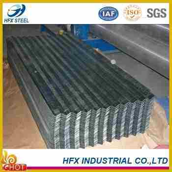 Somalia Zinc 40g Bwg32 Galvanized Corrugated Steel Sheet