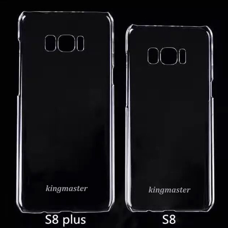 White|Black|Transparent PC Phone Case for Samsung S8 Plus