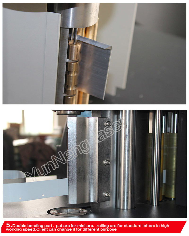 Stainless Steel/Aluminum 3D Bending Machine